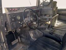 Inside the Humvee Stock Photography