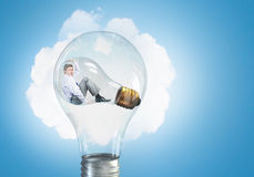 Inside of idea Stock Images