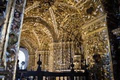 Inside Igreja e Convento de São Francisco in Bahia, Salvador - Brazil stock photo