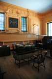 Inside independence hall Royalty Free Stock Photo