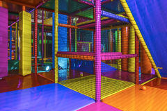 Inside an Indoor playground arena Stock Image