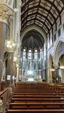 Inside of irish church Royalty Free Stock Photos