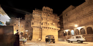 Inside Jaisalmer Fort Stock Photography