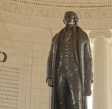 Inside the Jefferson Memorial, Washington, D.C. Royalty Free Stock Photography