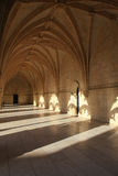 Inside the Jeronimos Monastery royalty free stock photo