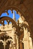 Inside the Jeronimos Monastery Stock Photo
