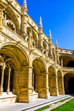 Inside the Jeronimos Monastery Royalty Free Stock Image