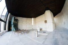 Inside jewish Memorial from Dachau Nazi camp Stock Photo