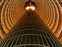 Inside Jin Mao Tower Royalty Free Stock Photos