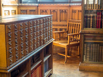 Inside of John Rylands Library in Manchester Royalty Free Stock Photos
