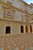 Inside the Junagarh Fort. Bikaner. Rajasthan. India Royalty Free Stock Photo