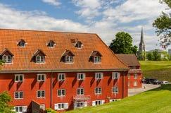 Inside Kastellet, a fortress in Copenhagen Stock Photo