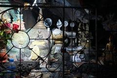 Inside Kawa Ka Thawng jama Zdjęcie Stock