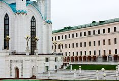 Inside the Kazan Kremlin Royalty Free Stock Photos