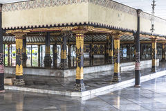Inside King Palace Yogyakarta Royalty Free Stock Images