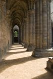 Inside Kirkstall Abbey, Leeds, West Yorkshire Stock Images