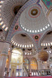 Inside of Kocatepe Mosque in Ankara Turkey Royalty Free Stock Image
