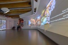 Inside Kolumbia pawilon, expo 2015 Mediolan Zdjęcie Stock