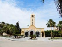 Inside koptyjski kościół Zdjęcie Royalty Free
