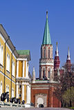 Inside the Kremlin, Moscow Royalty Free Stock Photo