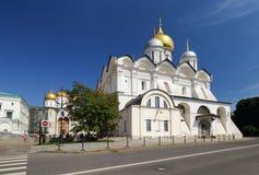 Inside Kremlin. View of Ivan the Great Bell Tower, Assumption Ca stock photos