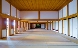 Inside the Kumamoto castle Royalty Free Stock Photos