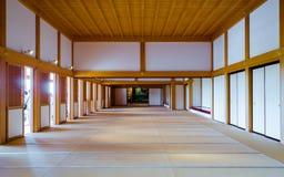 Inside the Kumamoto castle Royalty Free Stock Photos