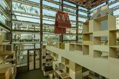 Inside Kwait pawilon, expo 2015 Mediolan Obrazy Stock