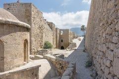 Inside Kyrenia castle royalty free stock photo