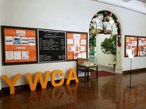 Inside Laniakea YWCA stock photos