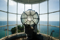 Inside lengkuas island lighthouse Royalty Free Stock Photo