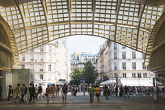 Inside Les Halles in Paris, France Stock Photography