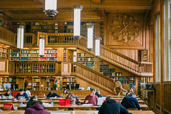 Inside the library of the university of Leuven, Belgium 7 Royalty Free Stock Photos