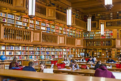 Inside the library of the university of Leuven, Belgium 2 Royalty Free Stock Photography