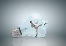 Free Inside Light Bulb Stock Photos - 59321603