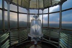 Inside a lighthouse Stock Photography