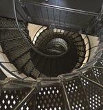 Inside The Lighthouse Stock Photo