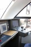 Inside locomotive Stock Image