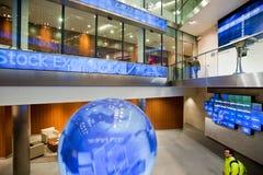 Inside the London Stock Exchange Stock Photos