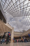 Inside Louvre Museum Royalty Free Stock Image