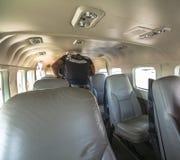 Inside mały samolot na Hawaje locie Fotografia Royalty Free