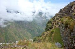 Inside Machu Picchu Stock Photography