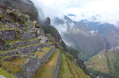 Inside Machu Picchu Royalty Free Stock Images