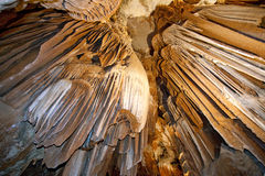 Inside madeleine caves Royalty Free Stock Image