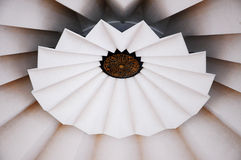 Inside Main dome of National Mosque of Malaysia a.k.a Masjid Negara Royalty Free Stock Image