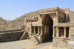Inside the main gate at Kumbhalgarh Stock Photo