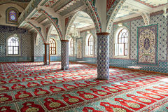 Inside Manavgat mosque Stock Photos