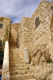 Inside Mar Saba convent, Israel. Royalty Free Stock Photography