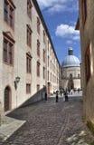 Inside Marienburg castle Stock Image