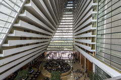 Inside Marina Bay Sands, Singapore Stock Photos
